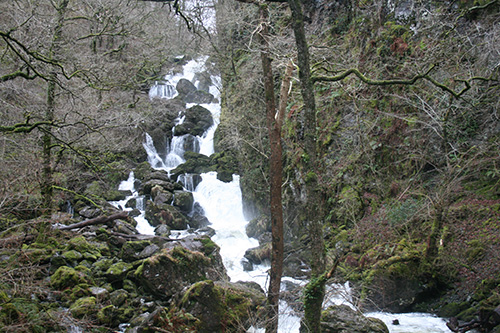 The Lodore Falls