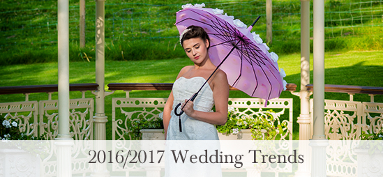 2016/2017 Wedding Trends