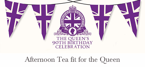 Queens 90th Birthday Royal Afternoon Tea