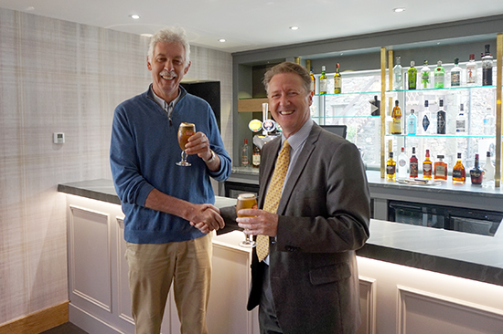 Charles Graves (Director) & Gary Wilson (General Manager)