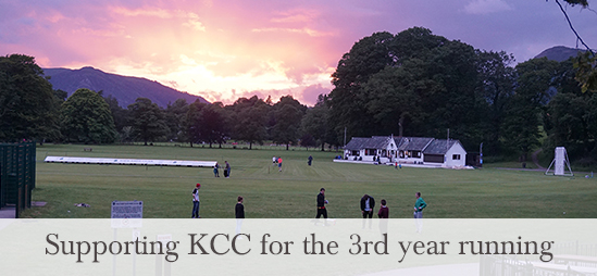 Supporting KCC for the 3rd year running