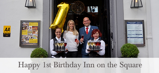 Inn on the Square 1st birthday
