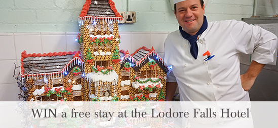 Guess the weight to win a free stay at the Lodore Falls Hotel