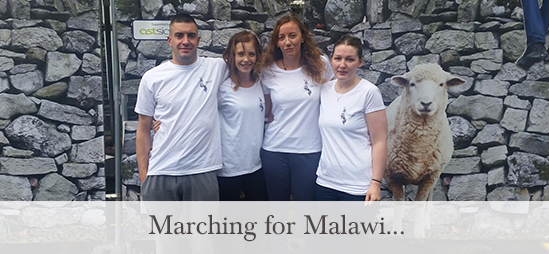 Marching for Malawi