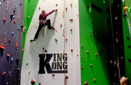 Indoor Climbing in the Lake District