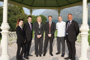 Bronwyn Evans (Assistant Restaurant Manager), Glen Barr (Bar Manager, Teresa Yare (Sales Manager), Gary Wilson (General Manager), Mark Harris (Head Chef) and George Smith (Duty Manager)