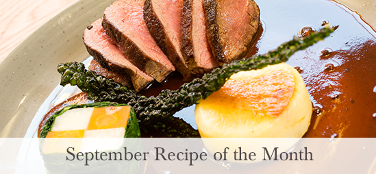 september recipe of the month from the award winning