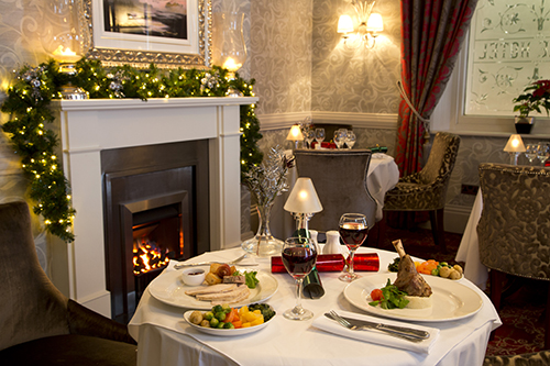 Festive Dining at the George Hotel