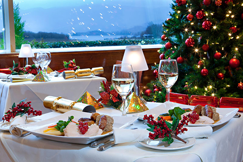 Festive Dining at the Lodore Falls
