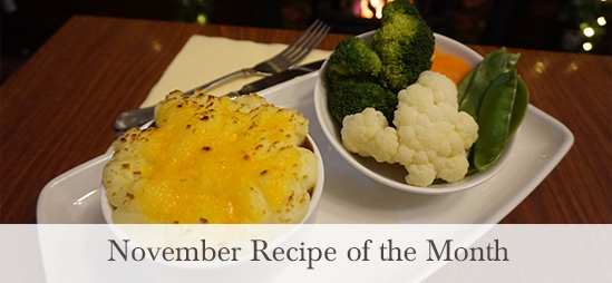 November Recipe of the Month