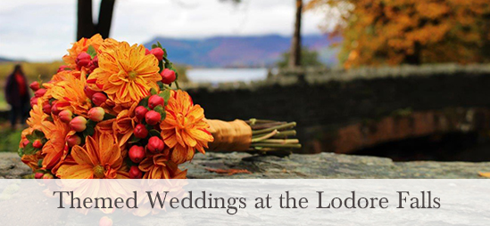 Themed Weddings at the Lodore Falls Hotel