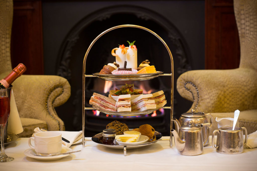 Afternoon Tea at Lodore Falls Hotel
