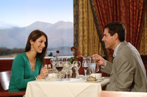 Valentine's Day Dinner at the Lodore Falls Hotel