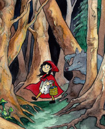 Little Red Riding Hood Panto