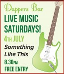 Live Music in Dappers Bar at the George Hotel