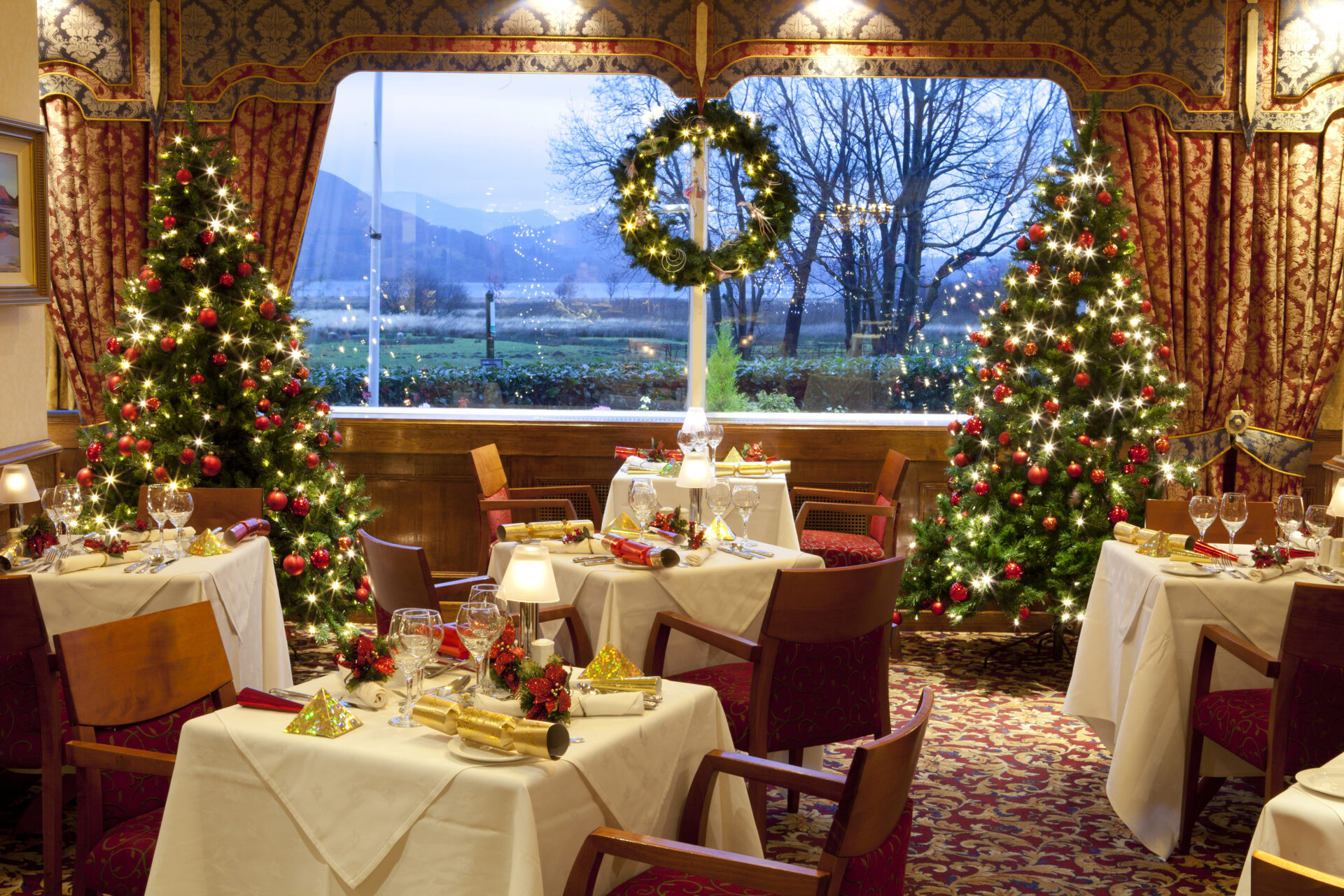 Crackers about Christmas at the Lodore Falls Hotel - Lake District ...