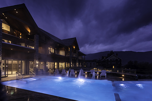 Valentine's Day packages at Lake District spa