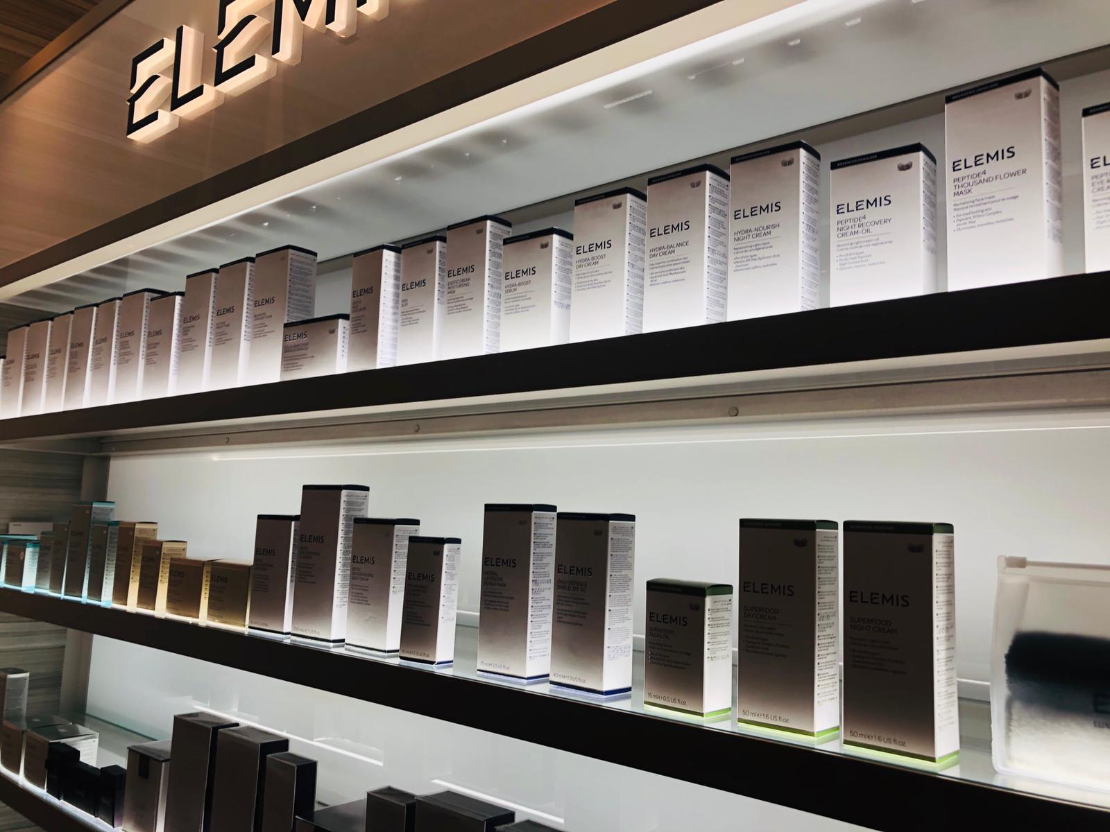 Elemis skin analysis event