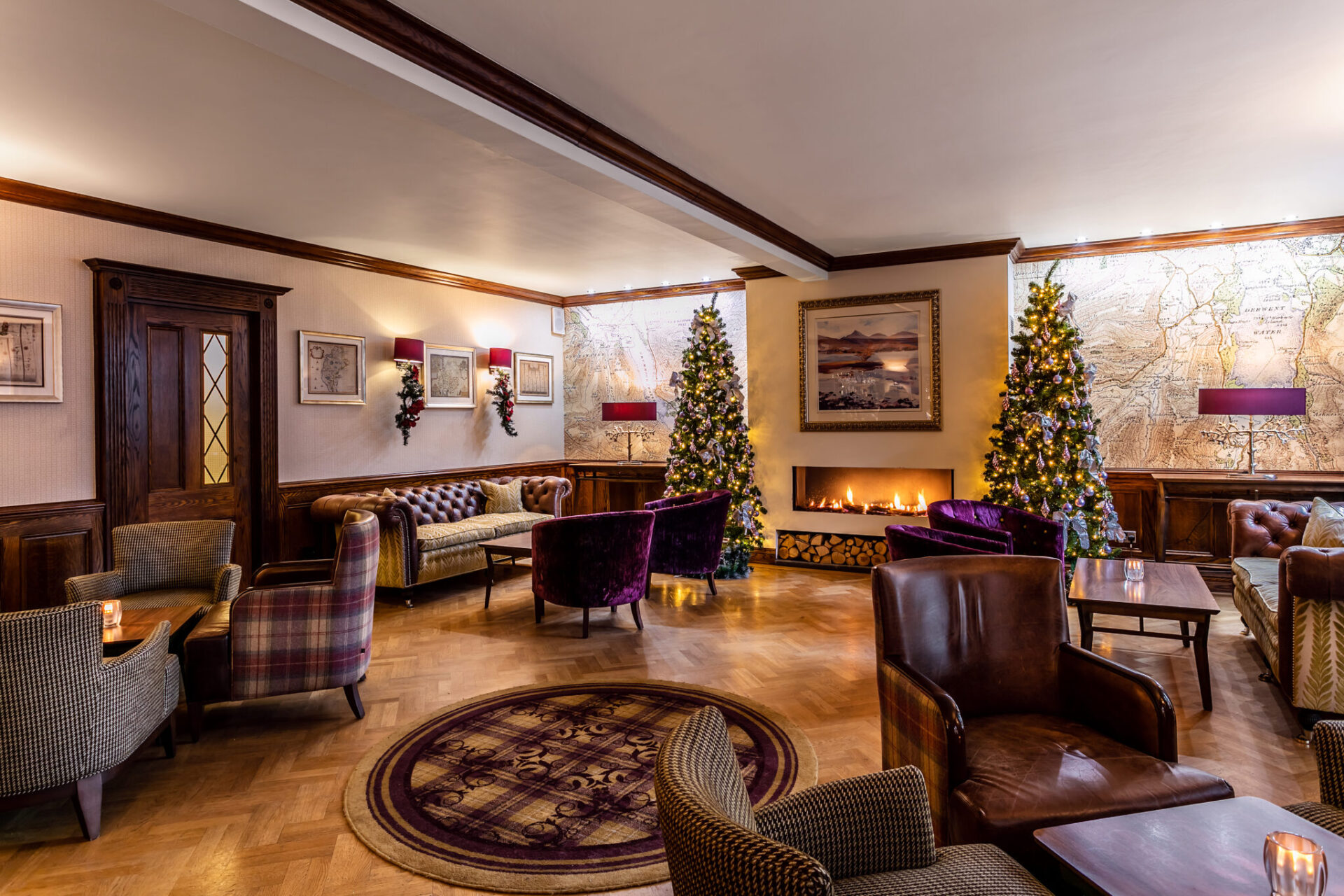 Festive dining in the Lake District