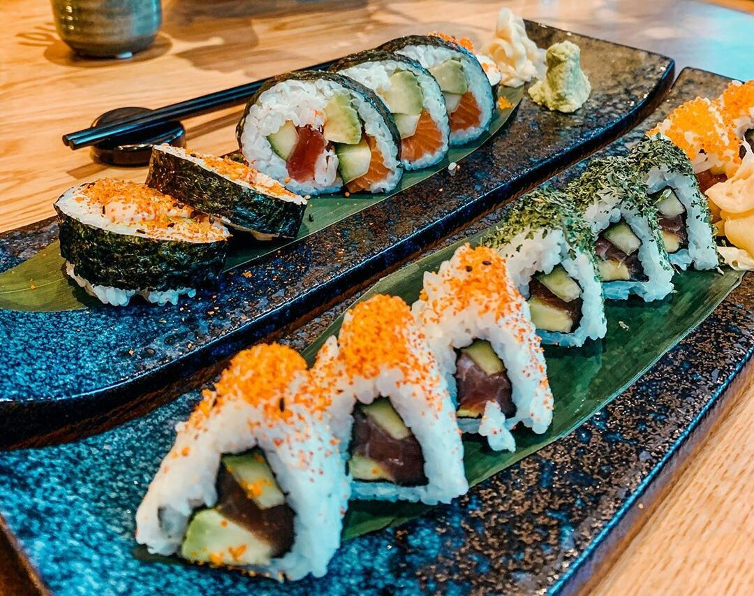 health benefits of eating sushi