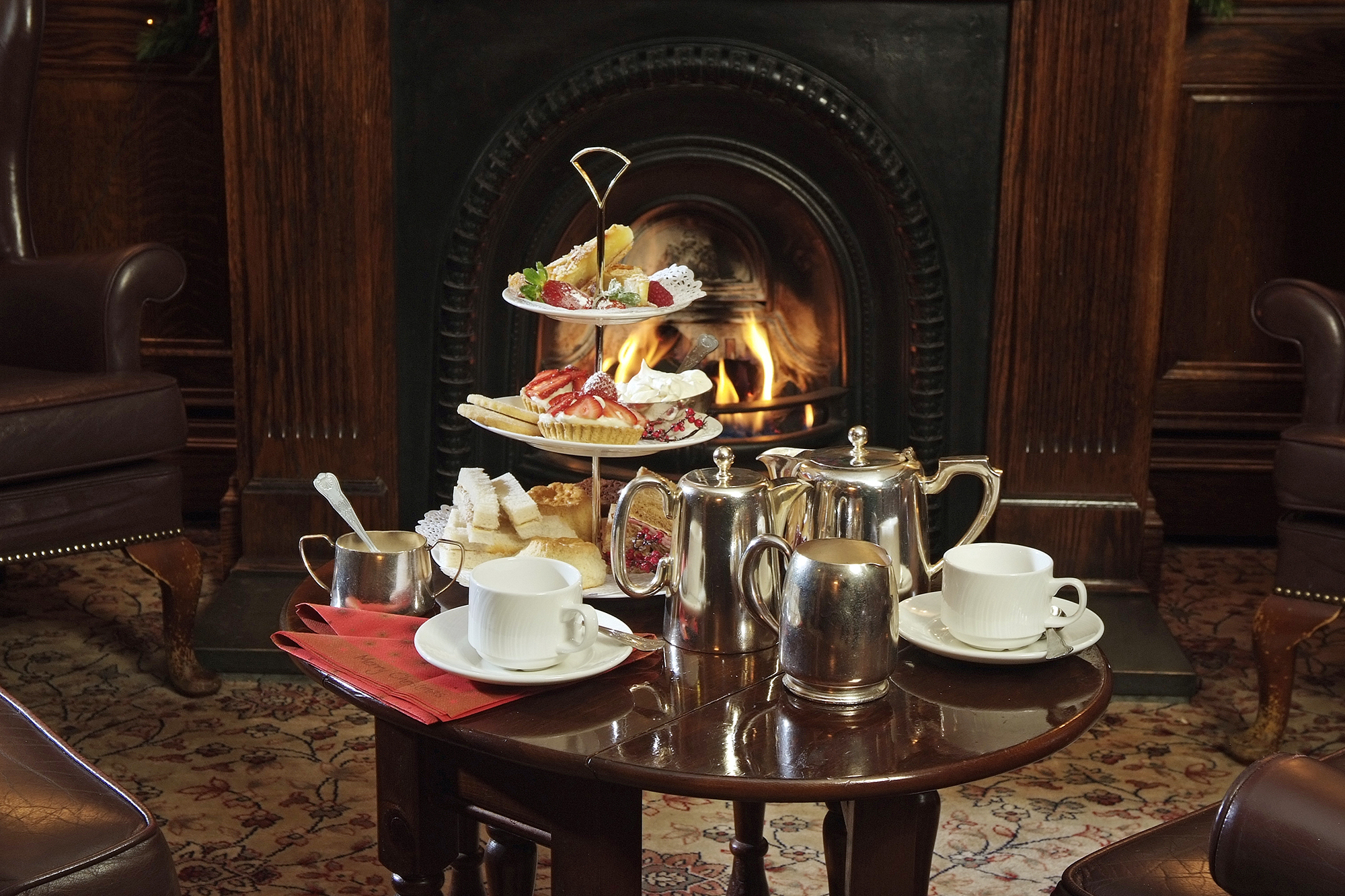 Borrowdale Hotel Festive Afternoon Tea
