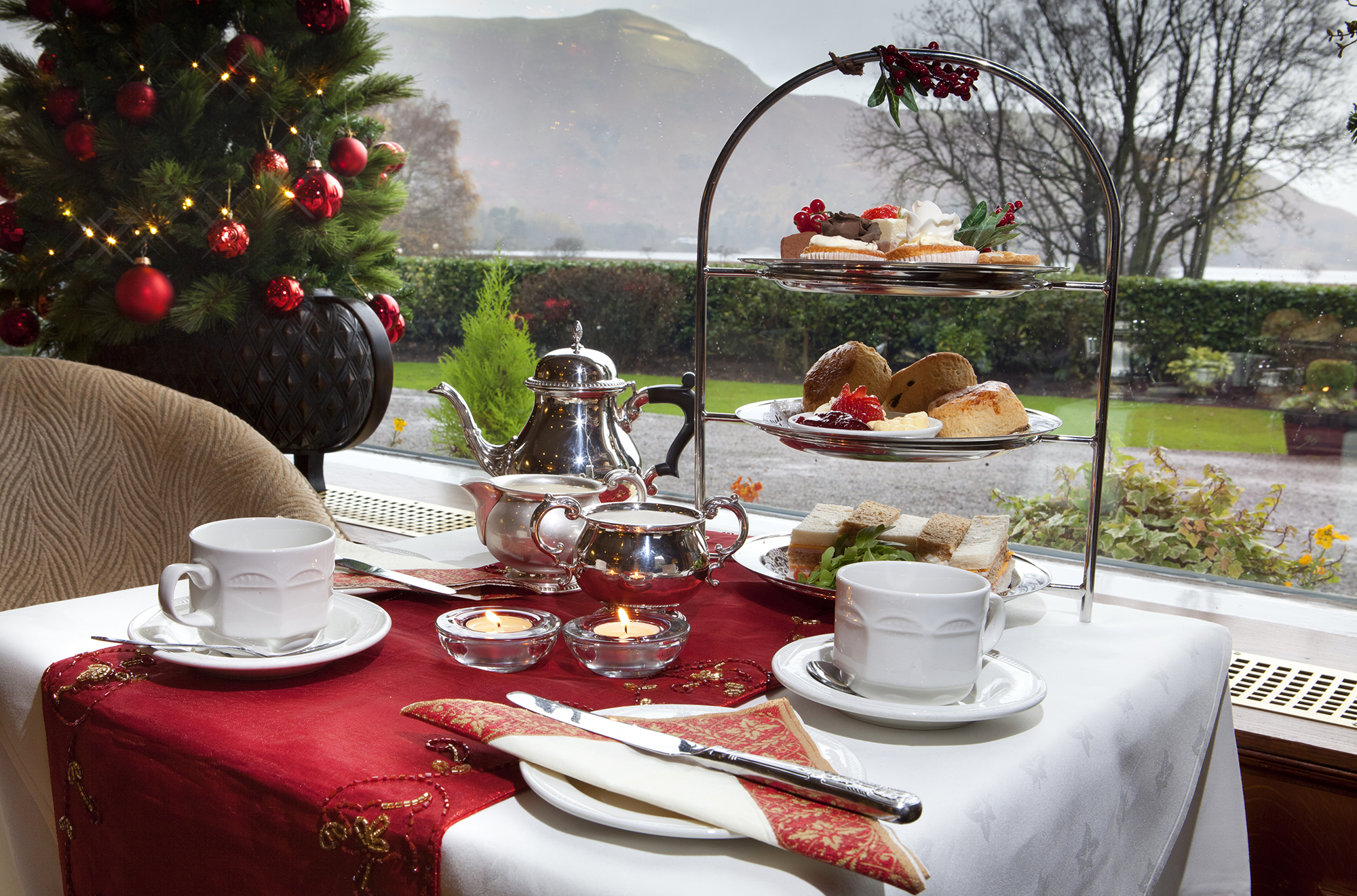 Lodore Falls Festive Afternoon Tea Christmas