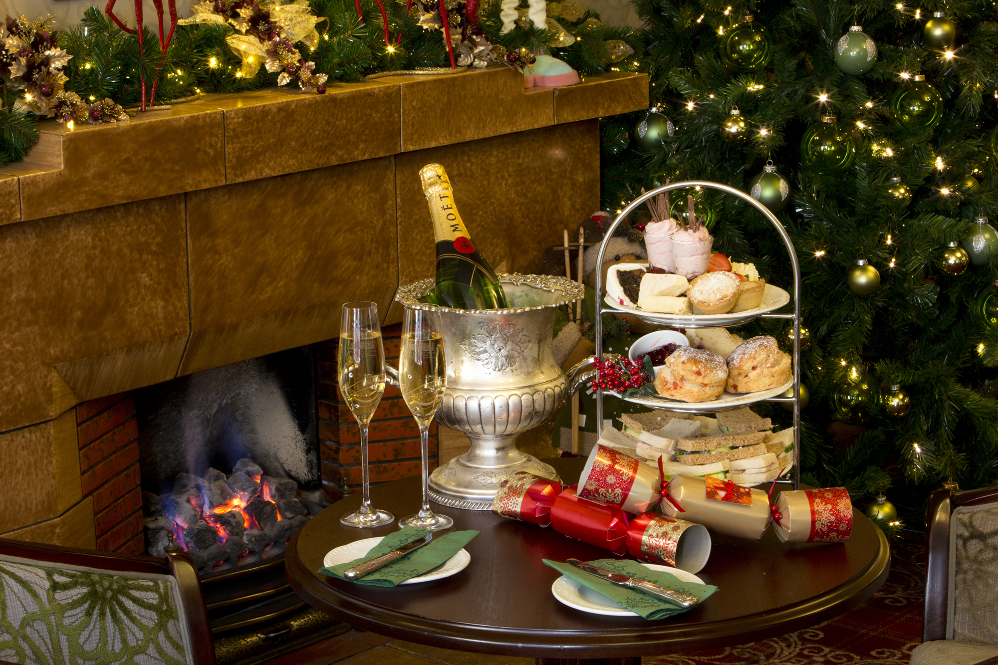 Festive Afternoon Tea at the Skiddaw Hotel