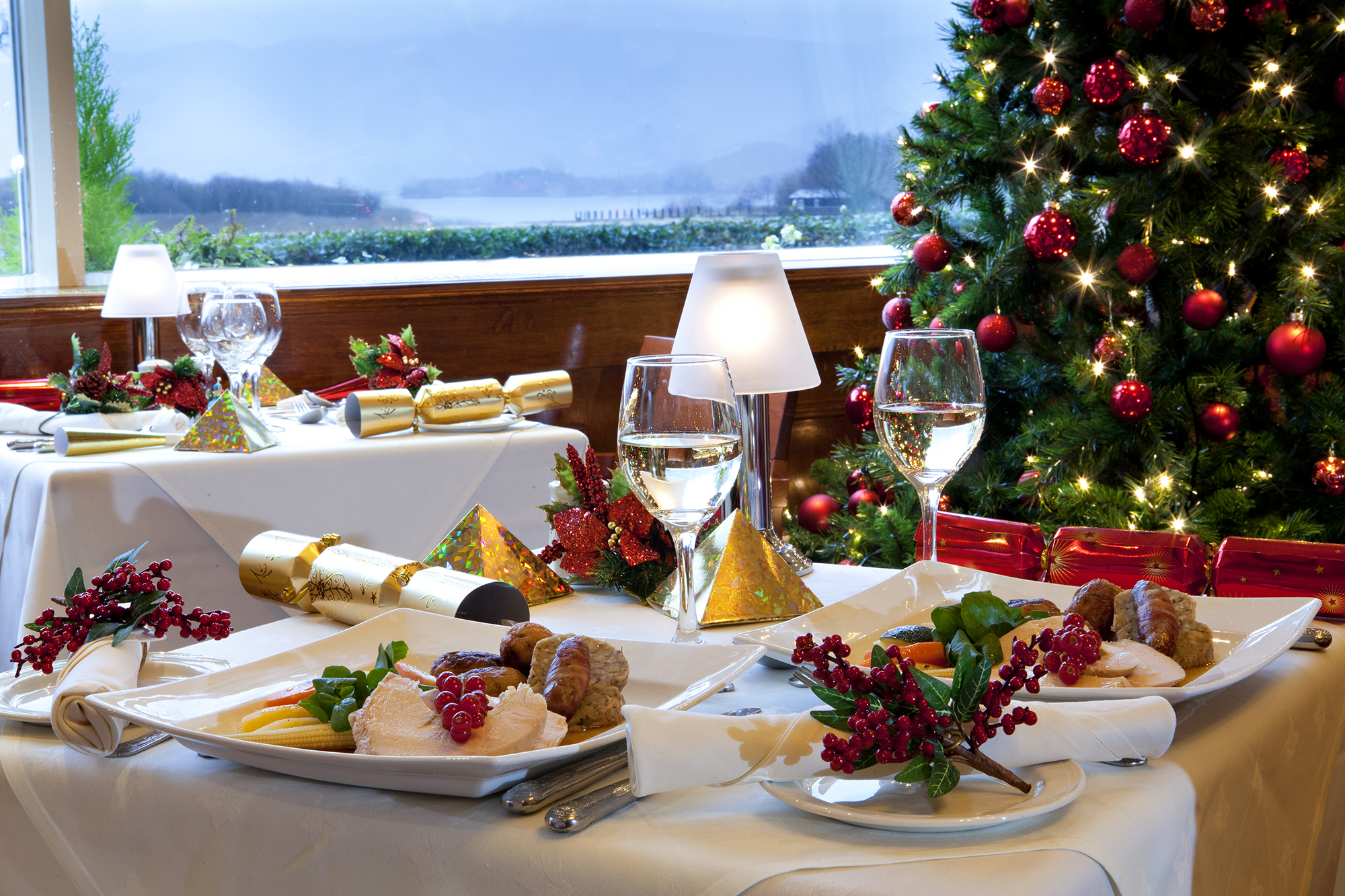 Festive Lunches at the Lodore Falls Hotel