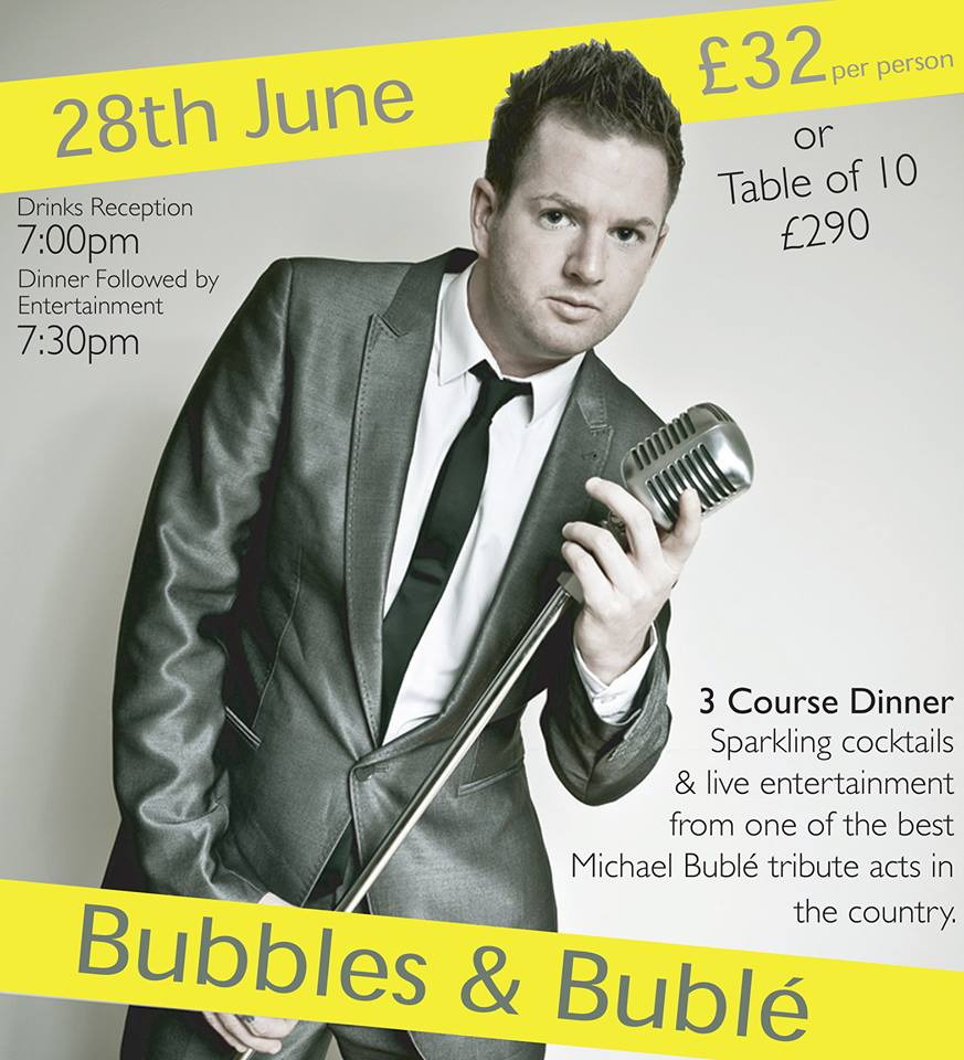 Bubbles & Bublé at the Lodore Falls Hotel