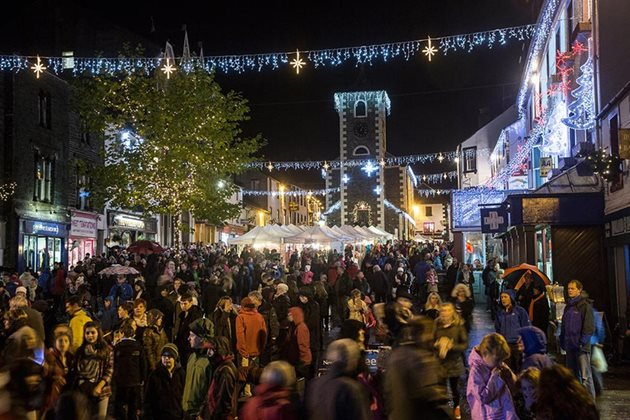 Keswick Christmas Lights Switch-on