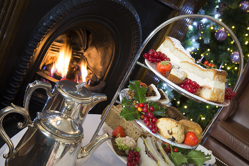 Festive Afternoon Tea at the Borrowdale Hotel