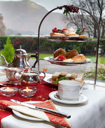 Festive Afternoon Tea at the Lodore Falls Hotel