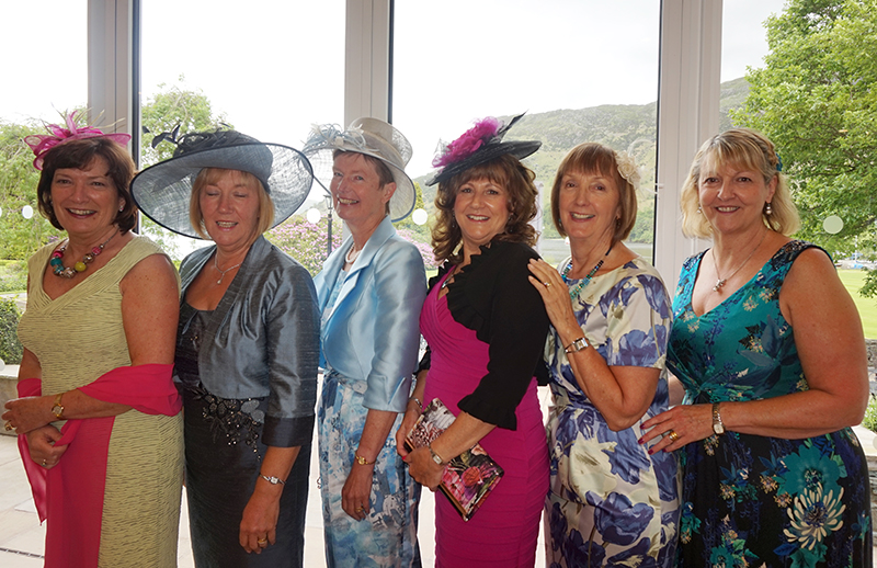 Royal Ascot Ladies Day at the Lodore Falls Hotel