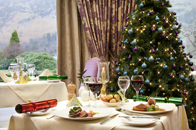 Festive Dining at the Lodore Falls Hotel