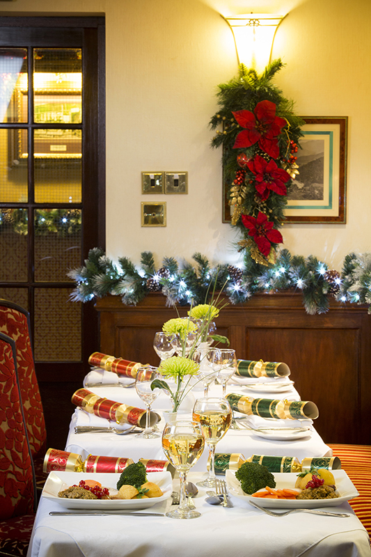 Festive Dining at the Skiddaw Hotel