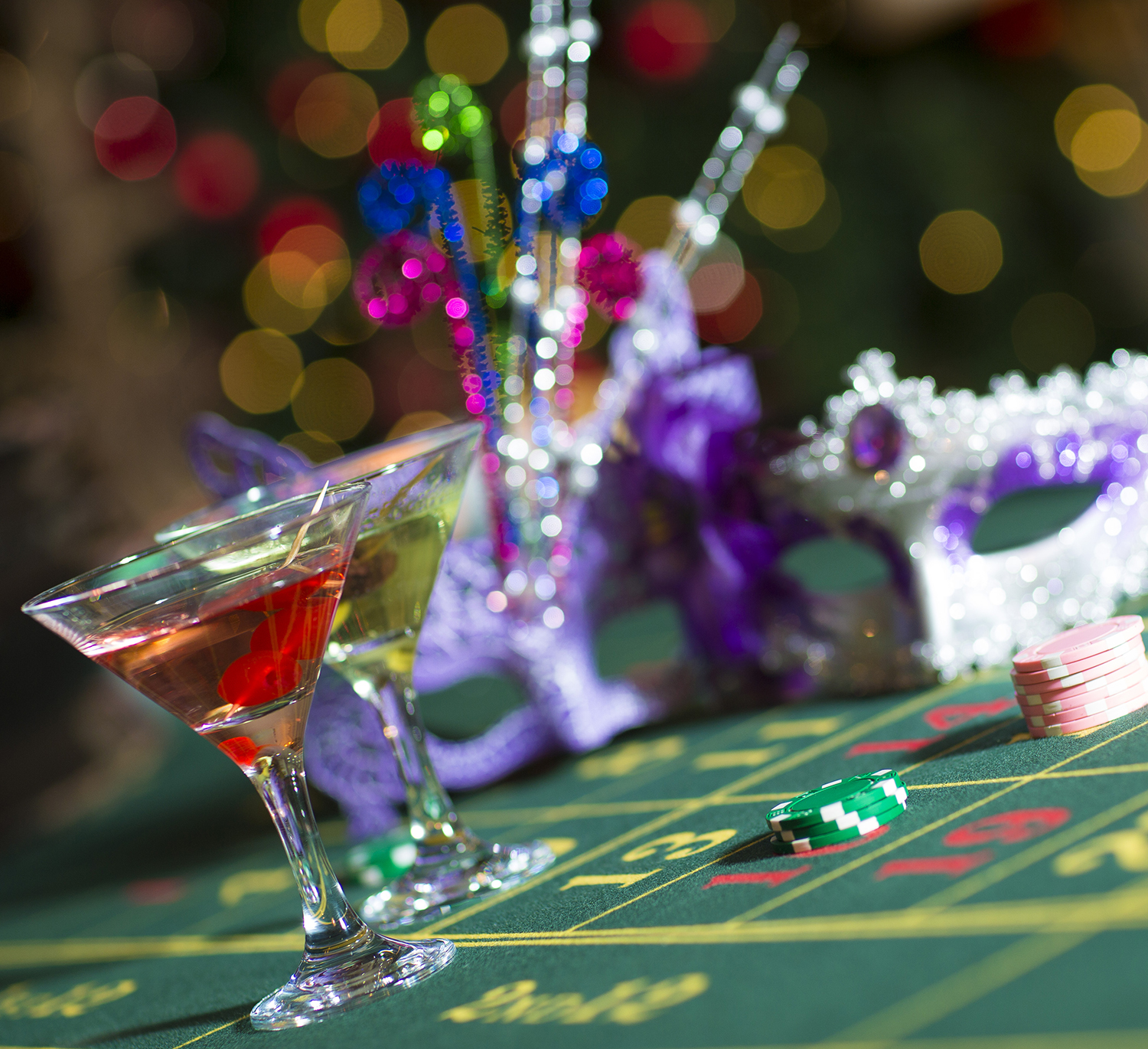 Casino Themed Party Nights at the Inn on the Lake