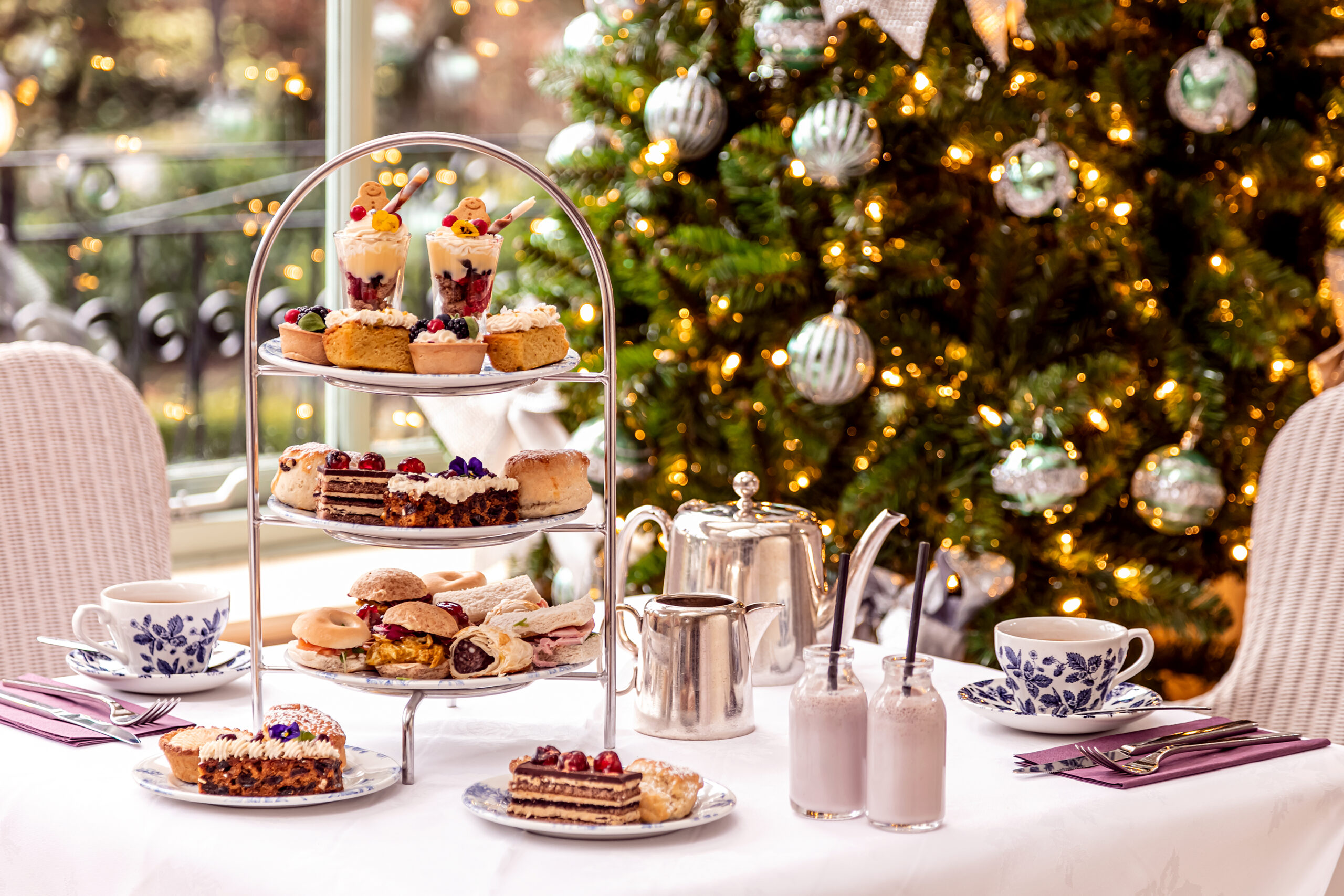 Yuletide Afternoon Tea at the Borrowdale Hotel