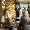 festive dining inn on the lake