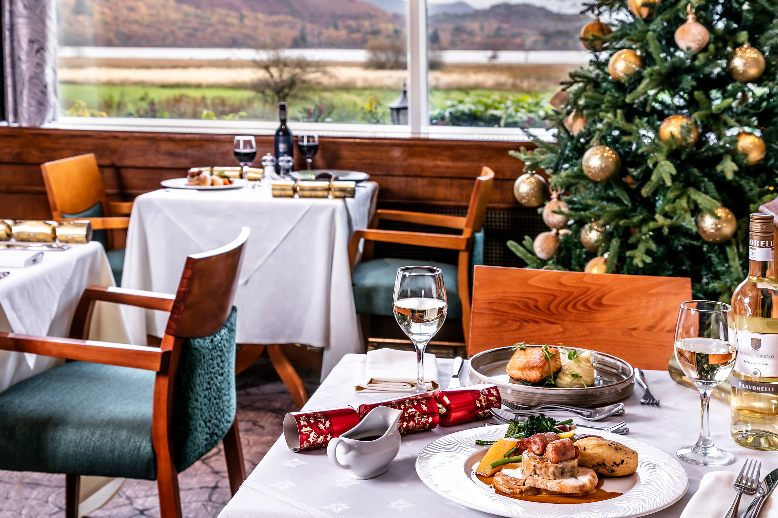 Festive Lunches at the Lodore Falls Hotel & Spa