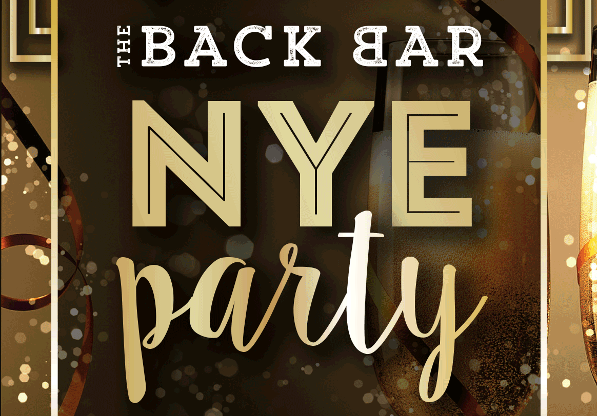 New Year's Eve Party at Back Bar