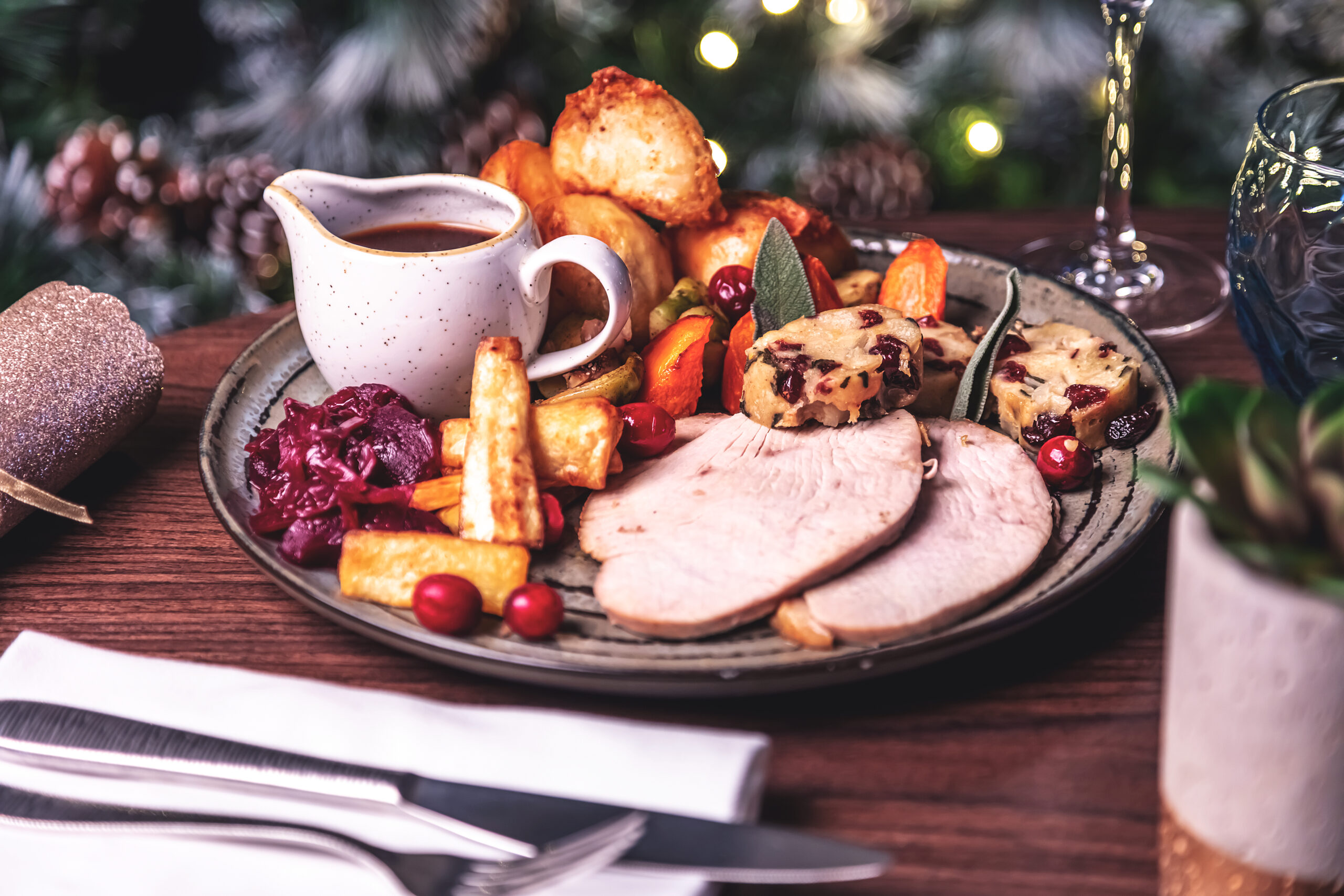 Festive Lunches at the Skiddaw Hotel