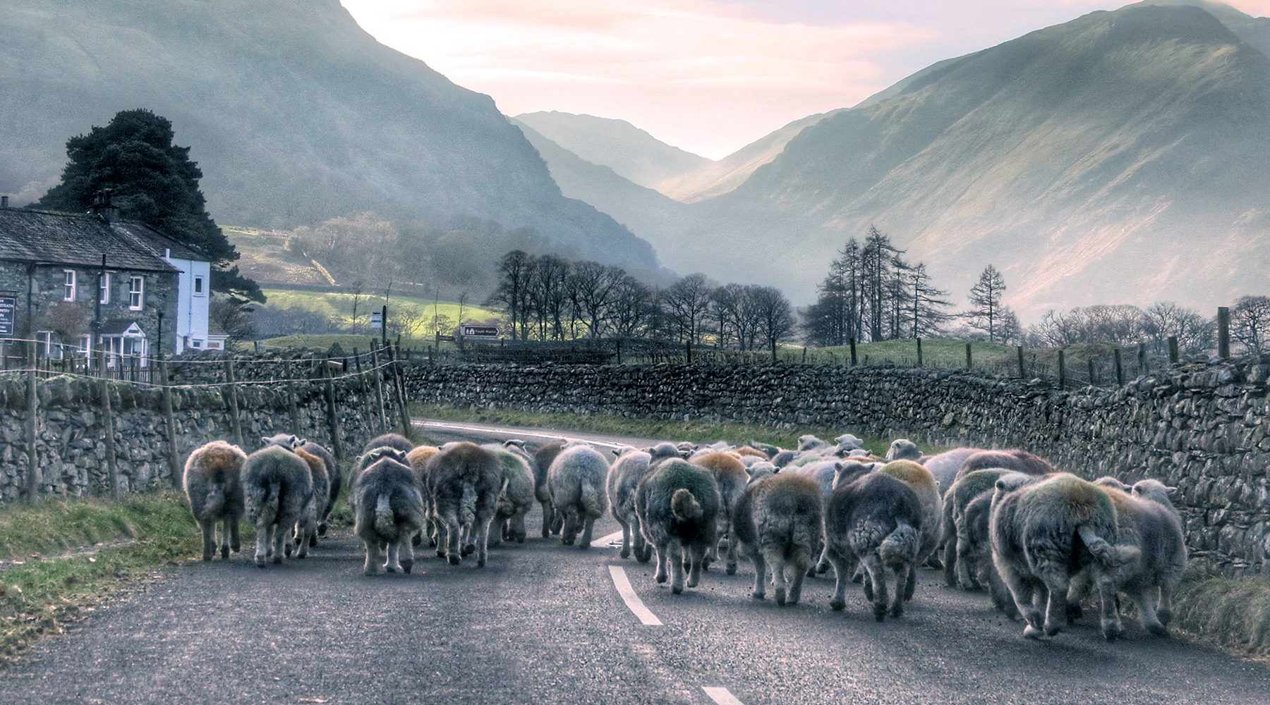 Leading Borrowdale Hotel Set In The Borrowdale Valley