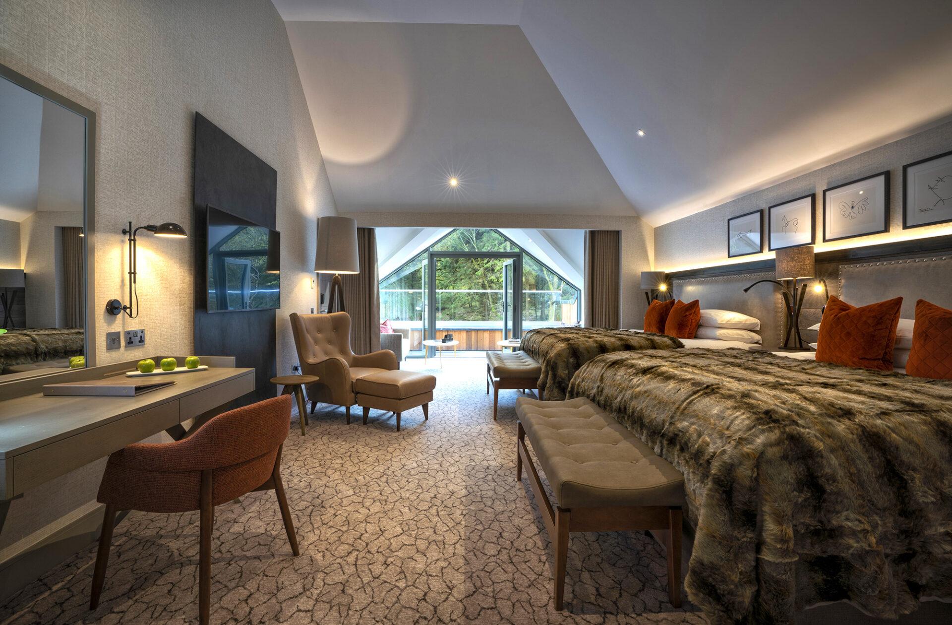 Lodore Falls Hotel