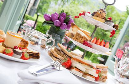 Afternoon Tea at the Borrowdale Hotel