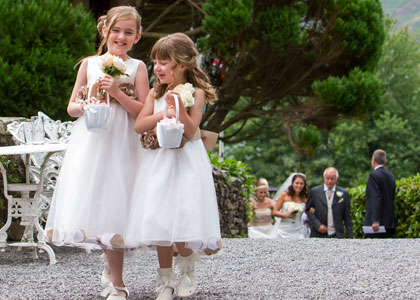 Weddings at the Lodore Falls