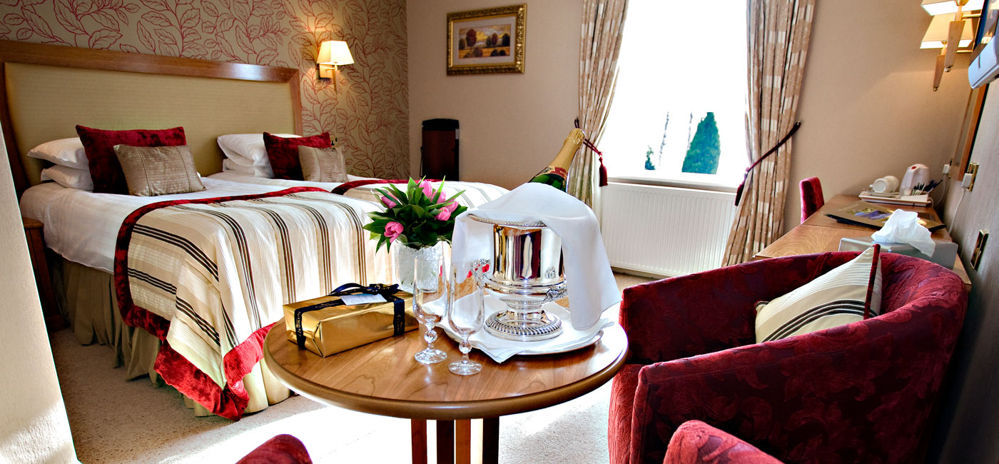Rooms at the Borrowdale HotelHotel